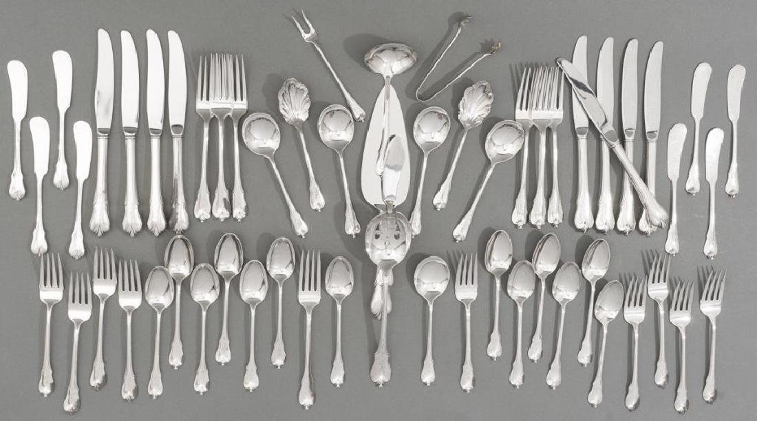 'Grand Colonial' by Wallace 61 Piece Sterling Silver