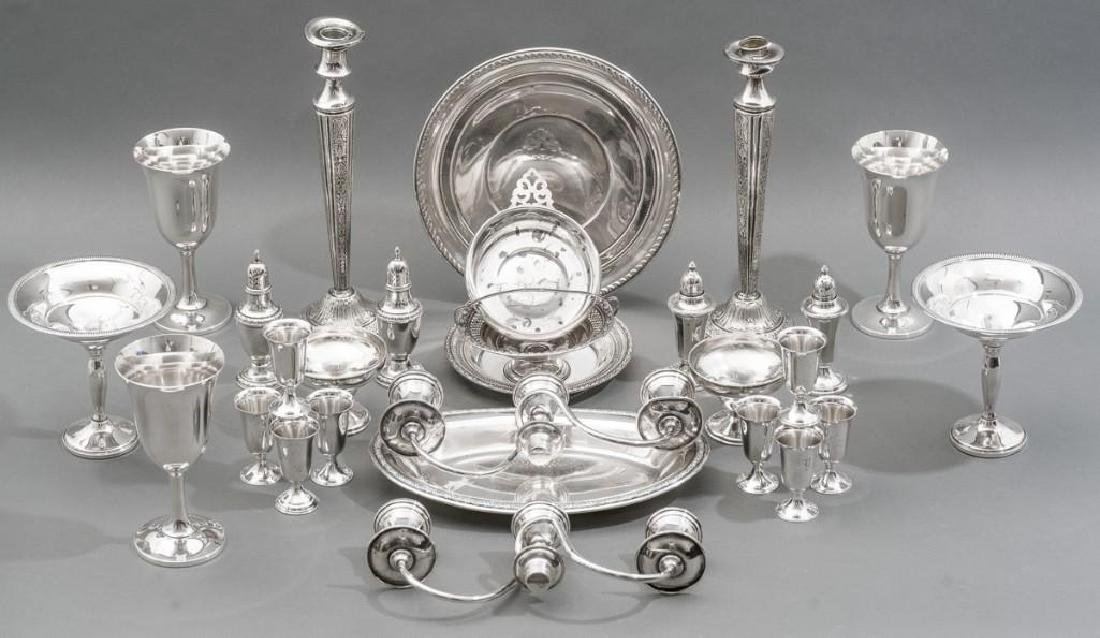 Assorted Collection of Sterling Silver Hollowware