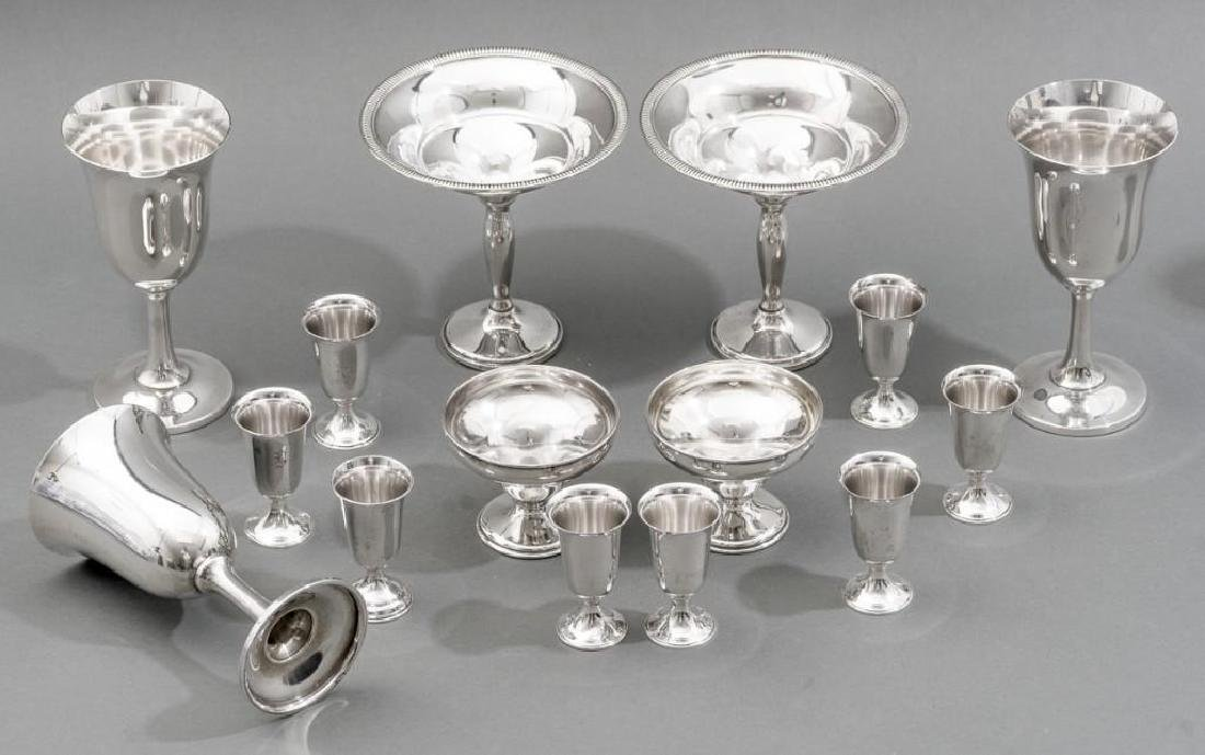 Assorted Collection of Sterling Silver Hollowware - 5