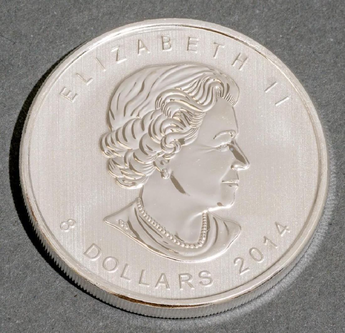 (100) 2014 Canada 1.5 oz Silver $8 Arctic Fox - 3