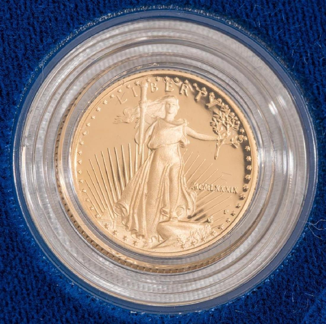 (2) $5 Gold American Eagle Tenth-Ounce Proofs - 3