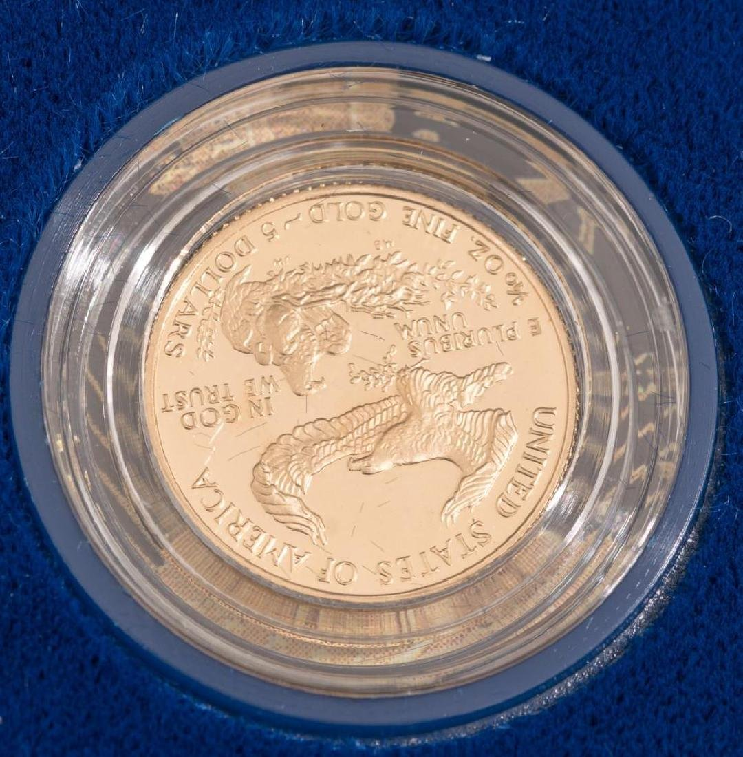 (2) $5 Gold American Eagle Tenth-Ounce Proofs - 4
