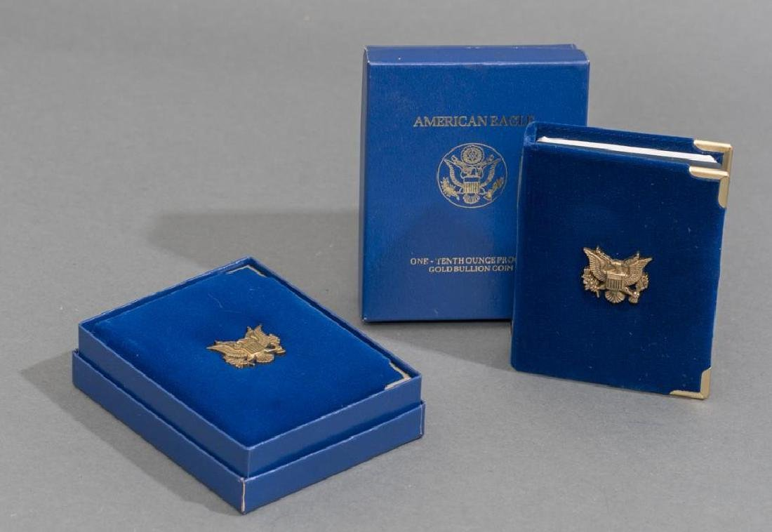 (2) $5 Gold American Eagle Tenth-Ounce Proofs - 9