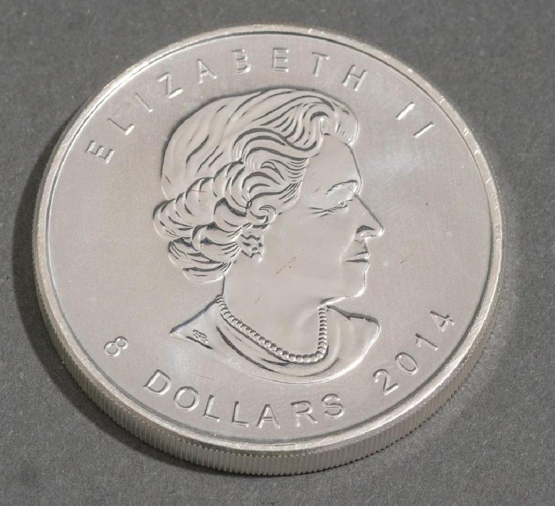 (20) 2014 Canada 1.5 oz Silver $8 Arctic Fox - 2