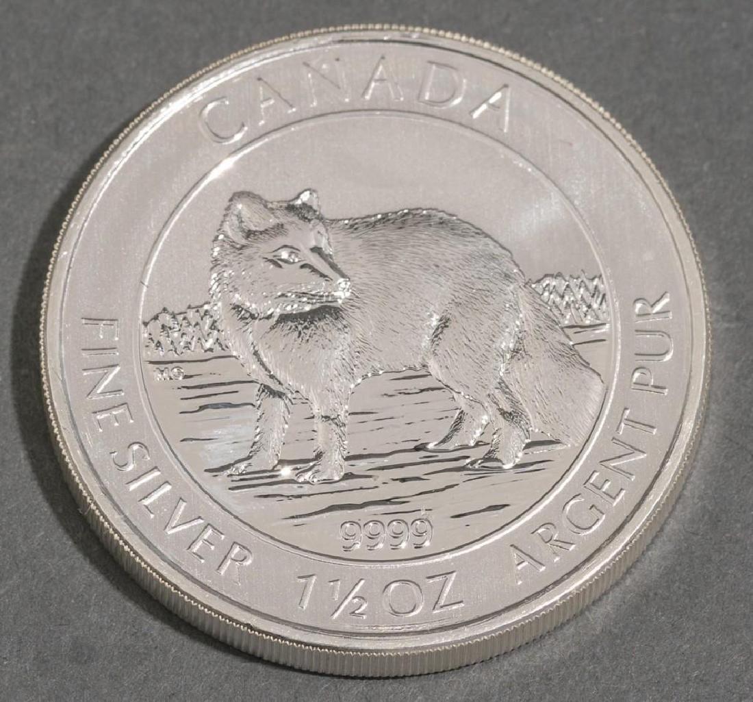 (20) 2014 Canada 1.5 oz Silver $8 Arctic Fox - 3