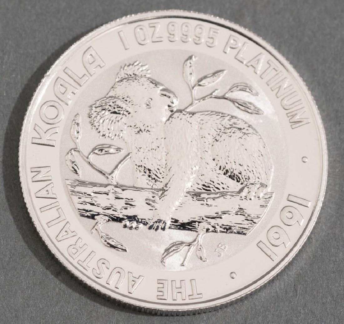 1991 Australia Koala Platinum-100 1-oz Coin - 2