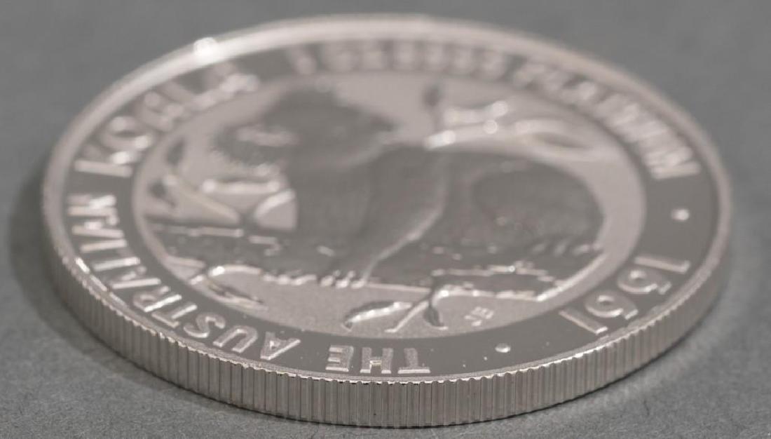 1991 Australia Koala Platinum-100 1-oz Coin - 3