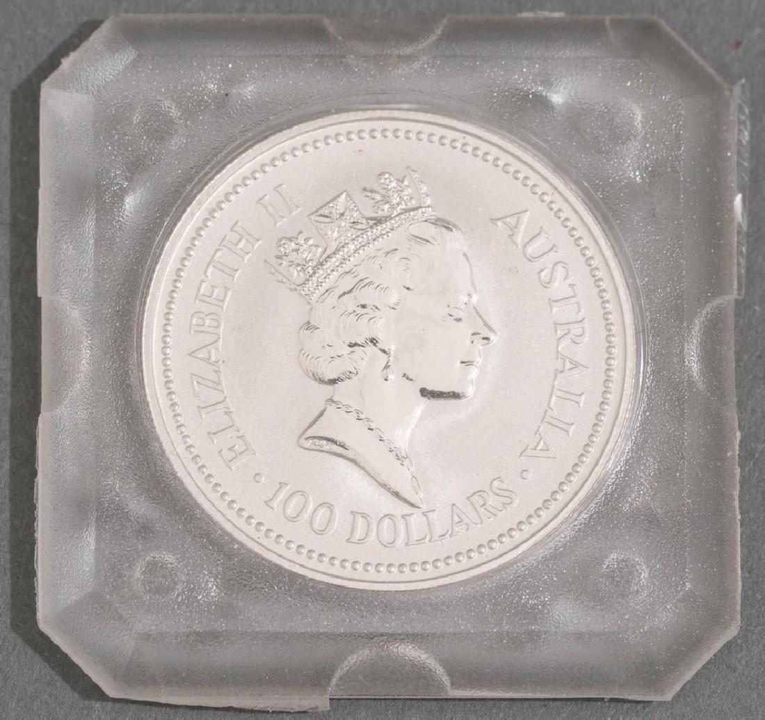 1991 Australia Koala Platinum-100 1-oz Coin - 4