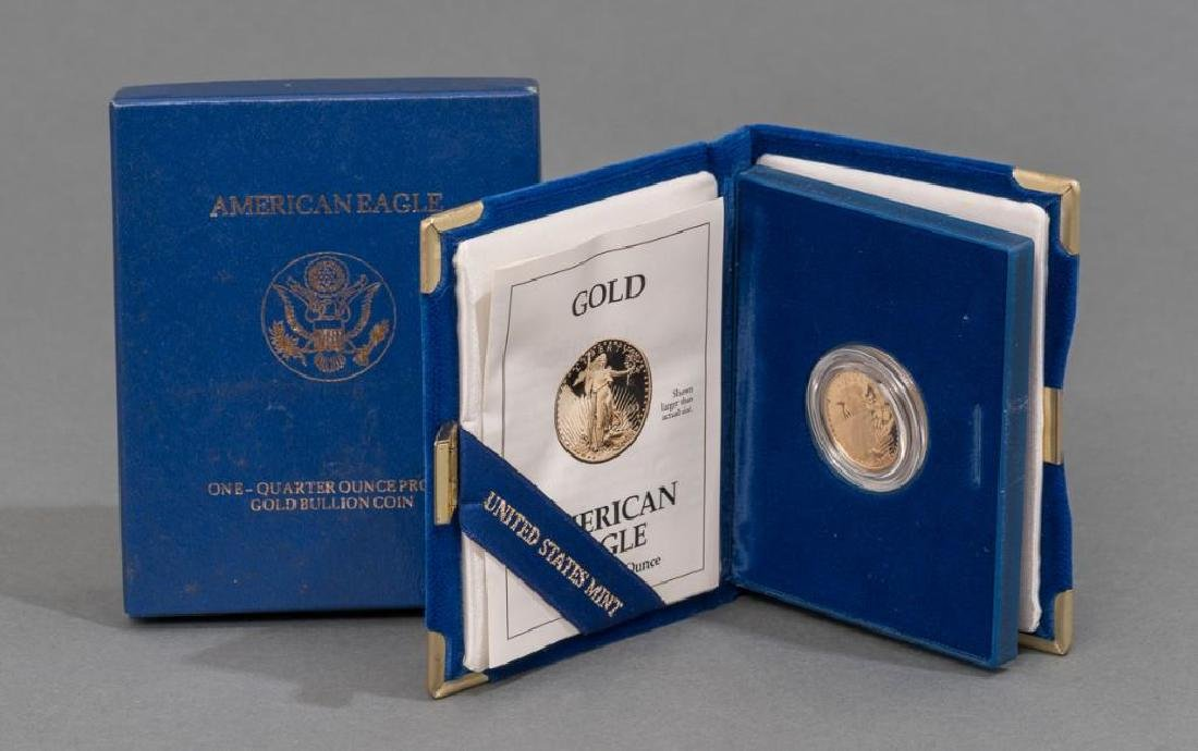 $10 Gold American Eagle Quarter Ounce Proof