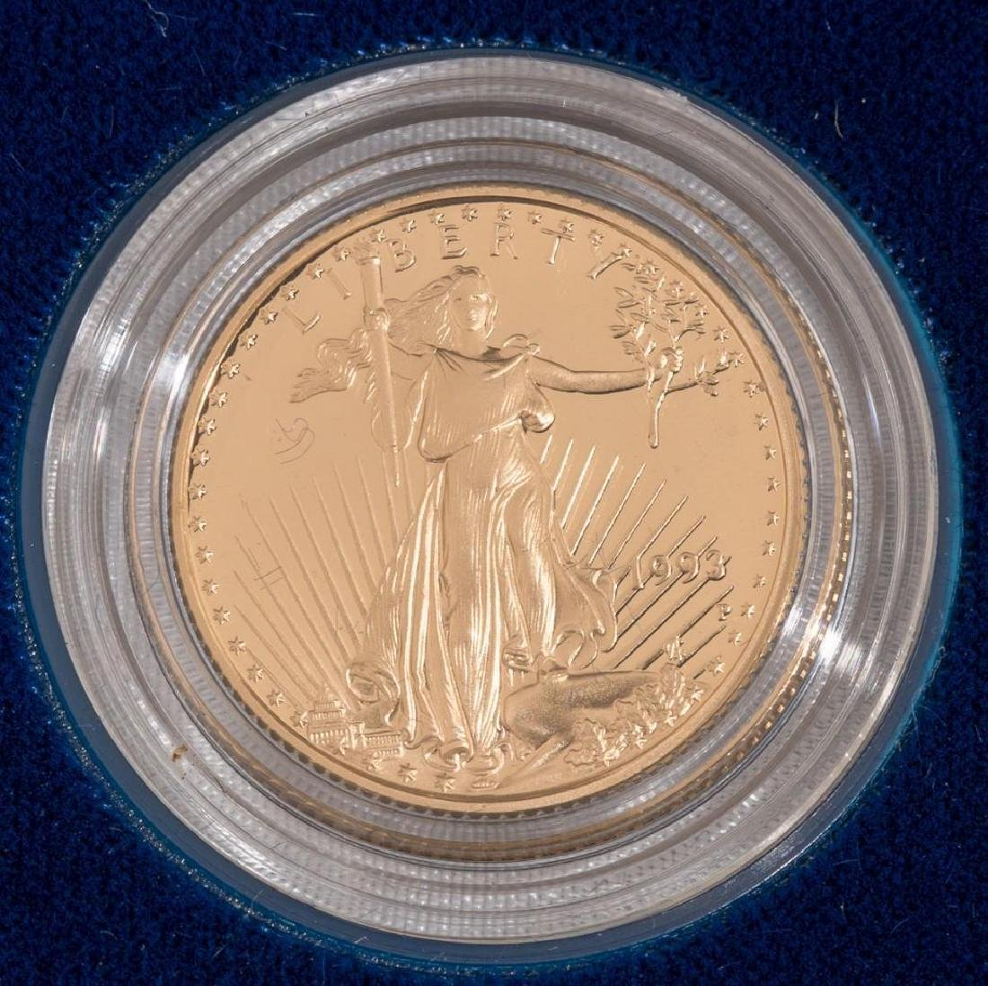 $10 Gold American Eagle Quarter Ounce Proof - 2