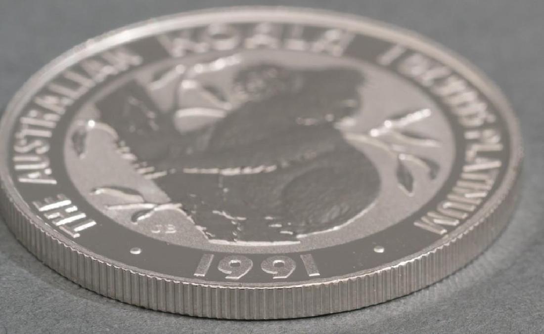 (2) 1991 Australia Koala Platinum-100 1-oz Coins - 4