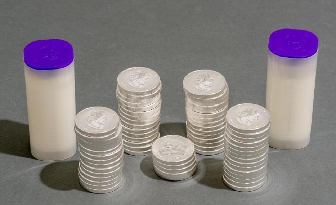 (100) 2014 Canada 1.5 oz Silver $8 Arctic Fox