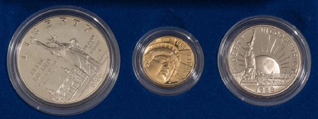 Collection of Gold & Silver Proof Coins - 3