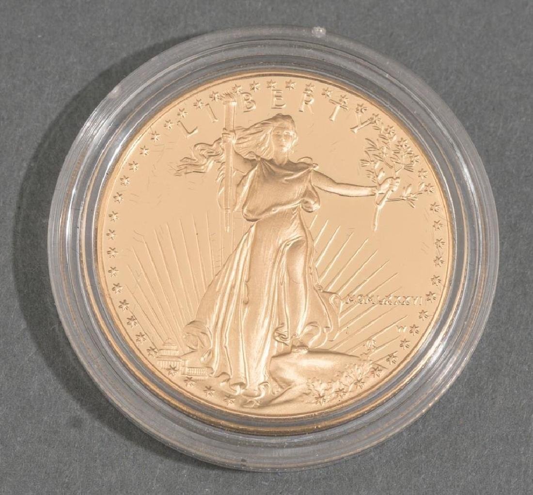 $50 Gold American Eagle Proof 1 Ounce Coin - 4