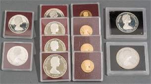 Cayman Islands Gold  Silver Proof Coins