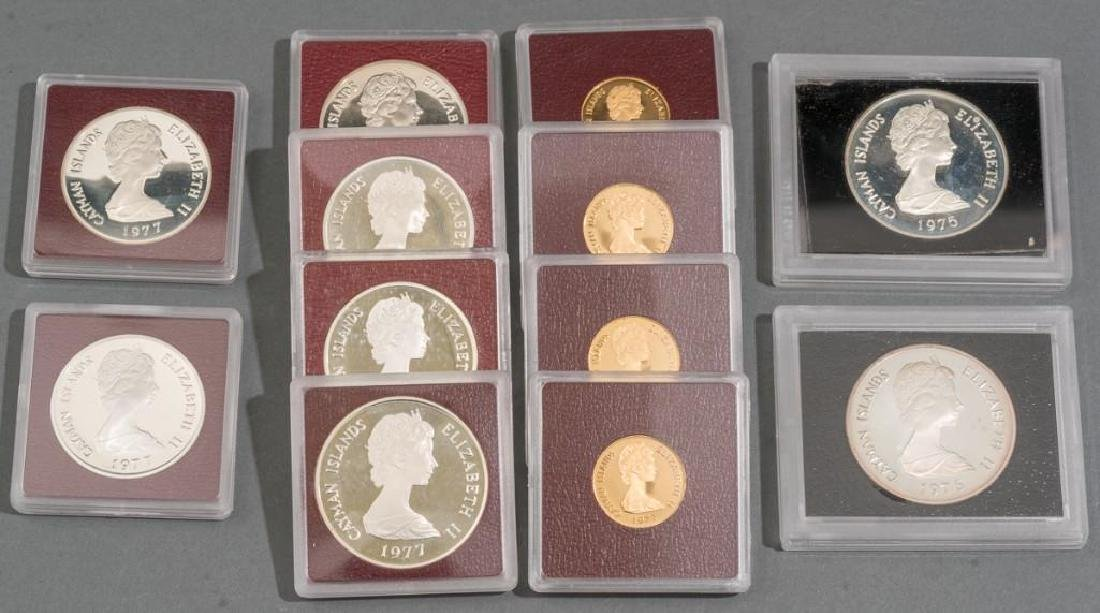 Cayman Islands Gold & Silver Proof Coins