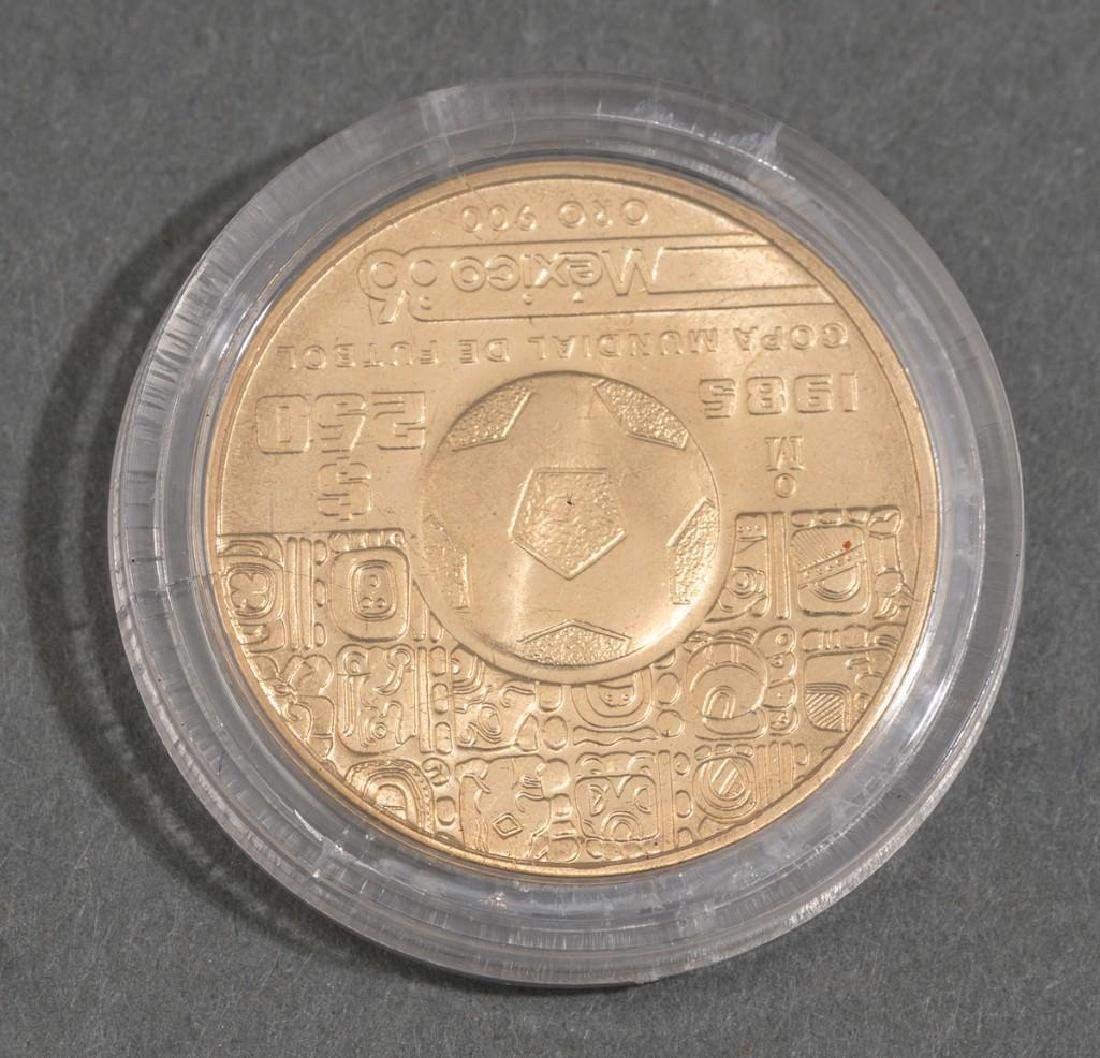 3-Piece Collection of Mexican Gold Coins - 3