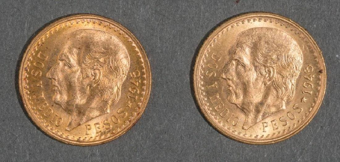 3-Piece Collection of Mexican Gold Coins - 4