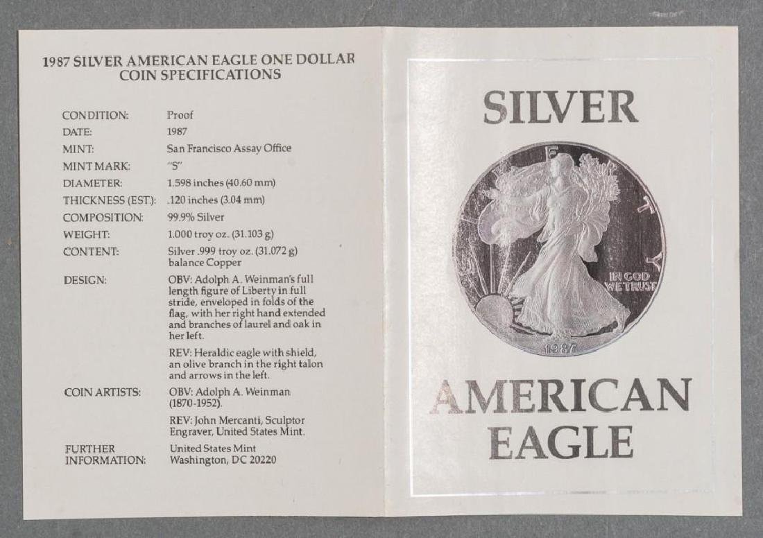(6) 1oz Silver American Eagle Proof Coins - 3