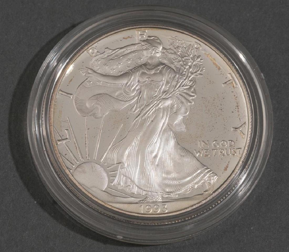 (6) 1oz Silver American Eagle Proof Coins - 4