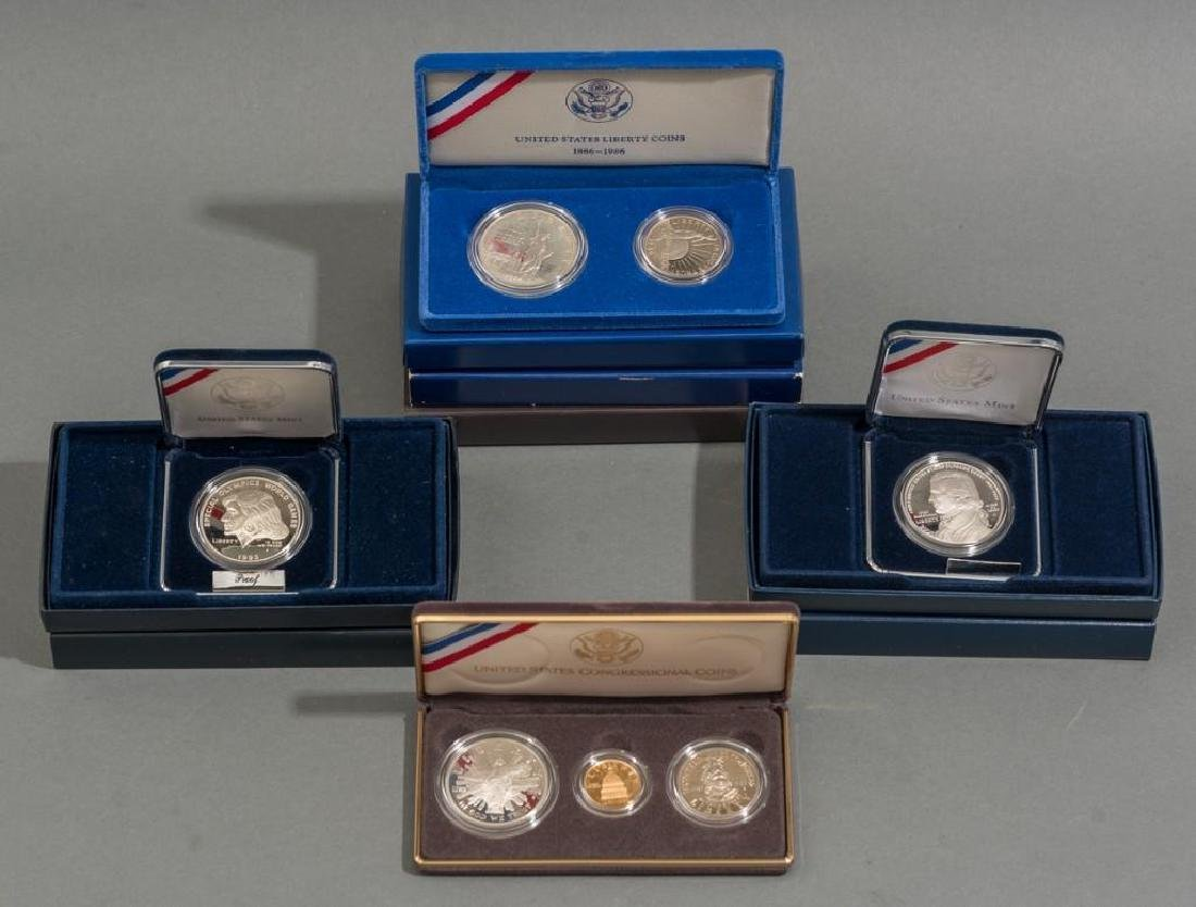 Collection of Gold & Silver Proof Coins