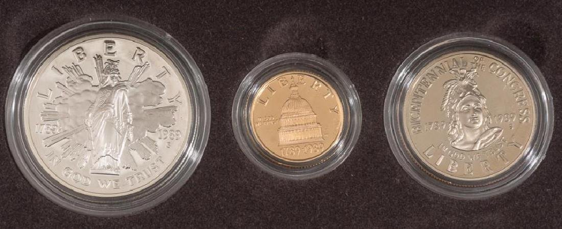 Collection of Gold & Silver Proof Coins - 2