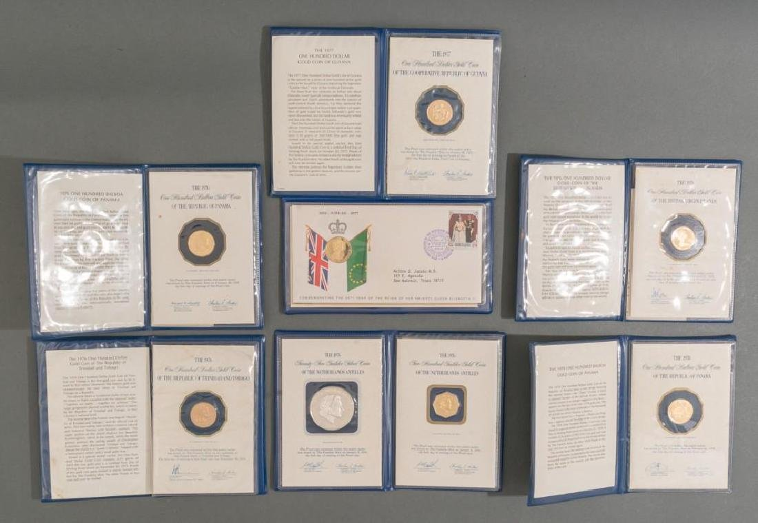 Franklin Mint Gold & Silver Proof Coin Collection