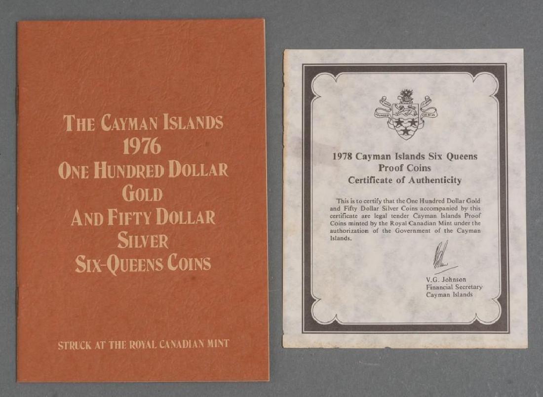 Cayman Islands Gold & Silver 'Six Queens' Coins - 4