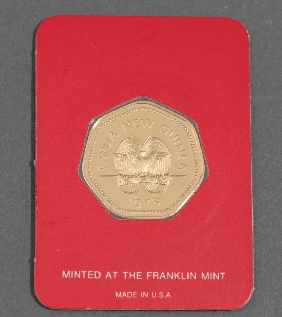 3-Piece Collection of Franklin Mint Gold Proof Coins - 3