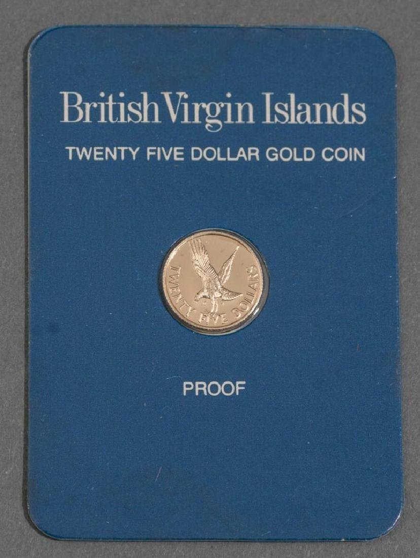 3-Piece Collection of Franklin Mint Gold Proof Coins - 6