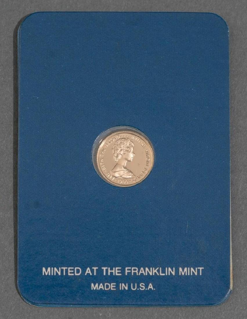 3-Piece Collection of Franklin Mint Gold Proof Coins - 7