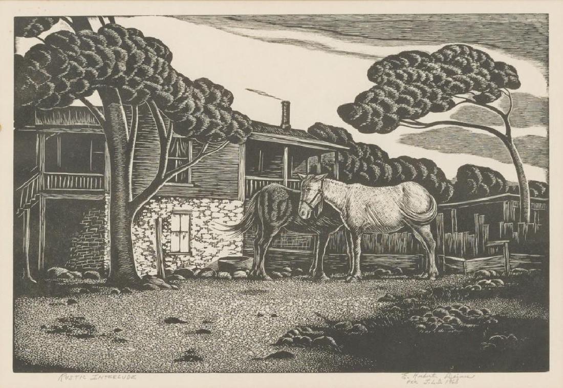 "Ernest Hubert Deines (1894-1967), ""Rustic Interlude"","