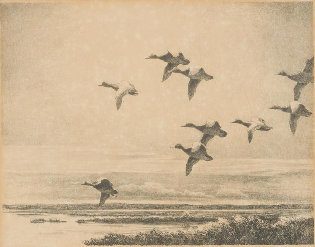 "Reveau Bassett (1897-1981), ""Eleven O'clock Flight"","