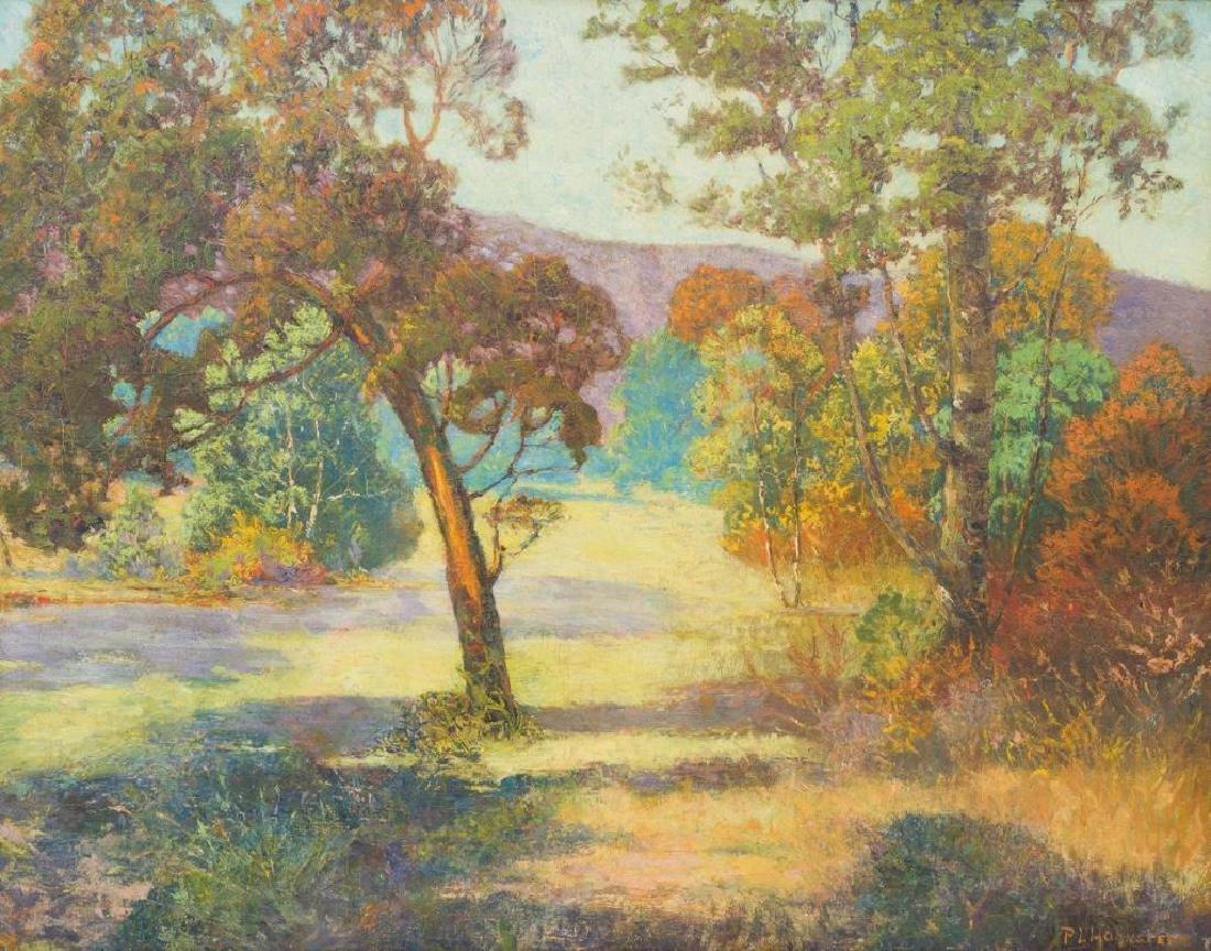 Peter L. Hohnstedt (1871-1957), Landscape, oil