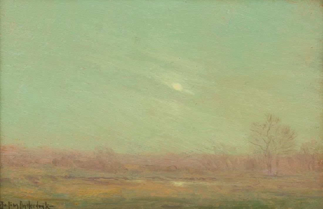 "Julian Onderdonk (1882-1922), ""A Misty Evening"", 1909,"