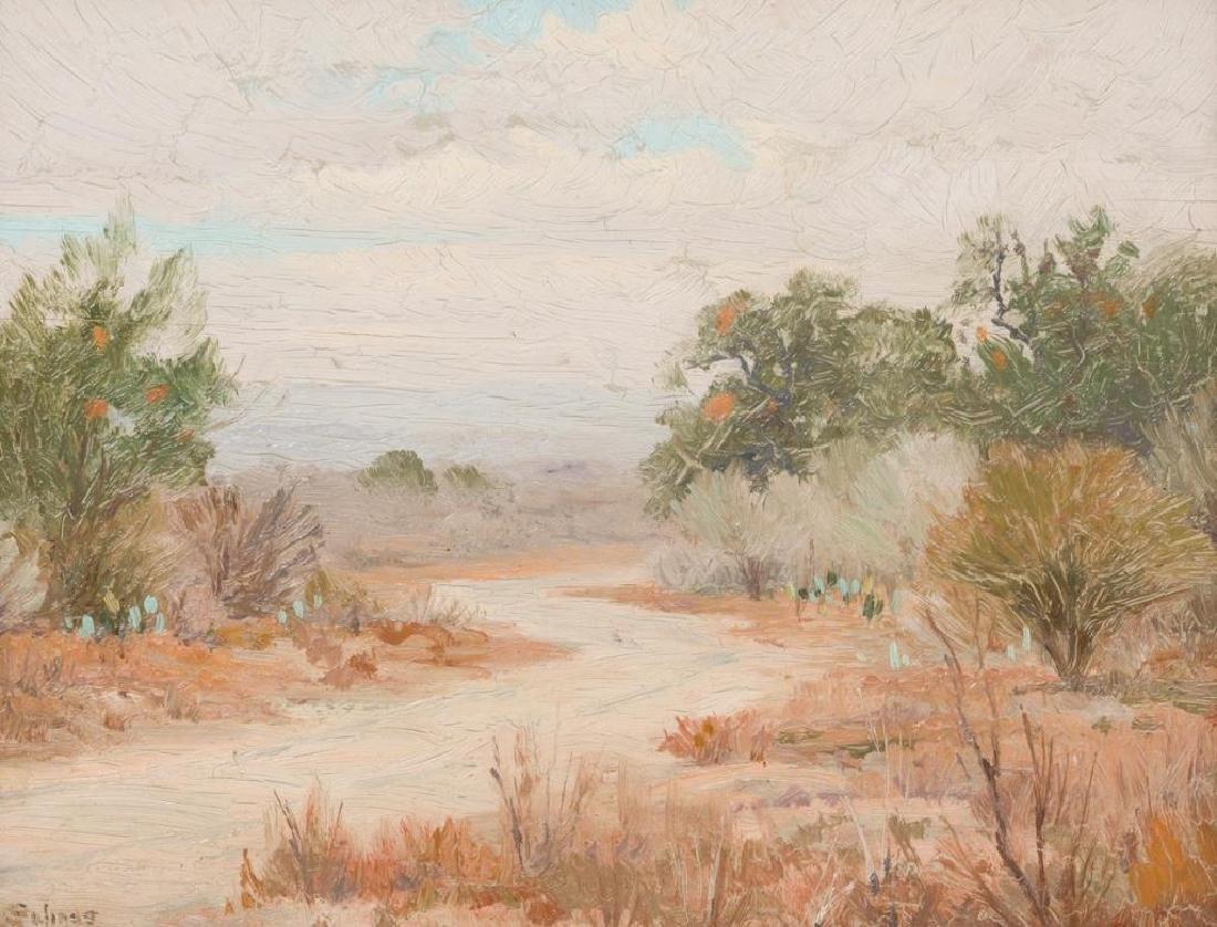 Porfirio Salinas (1910-1973), Early Texas Landscape,