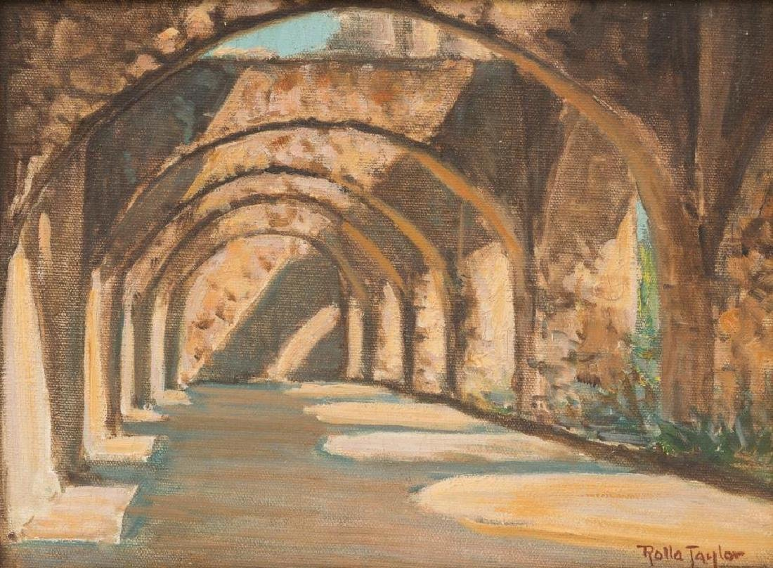 Rolla Taylor (1872-1970), Arches at San Jose Mission,