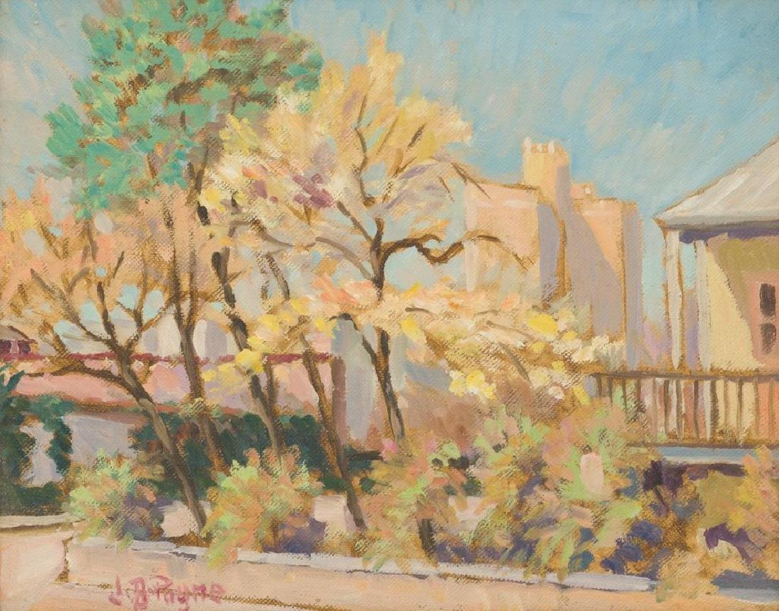John Bob Payne (1883-1962), San Antonio Street, oil