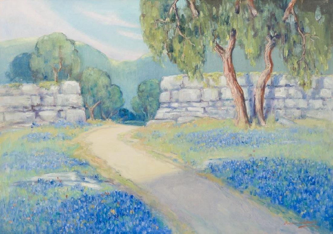 """Dawson Dawson-Watson (1864-1939), Bluebonnets, 24 x 34"""""""