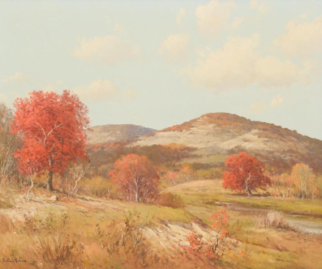 Porfirio Salinas (1910-1973), Fall in the Hill Country,