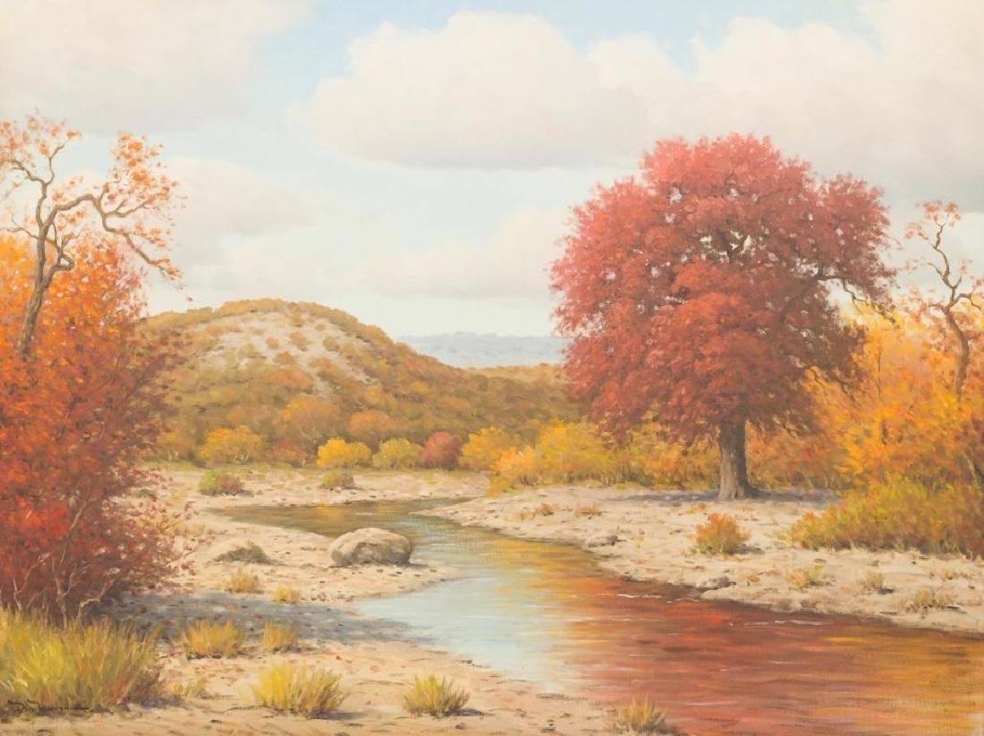 Don Warren (1935-2006), Privilege Creek, Bandera,
