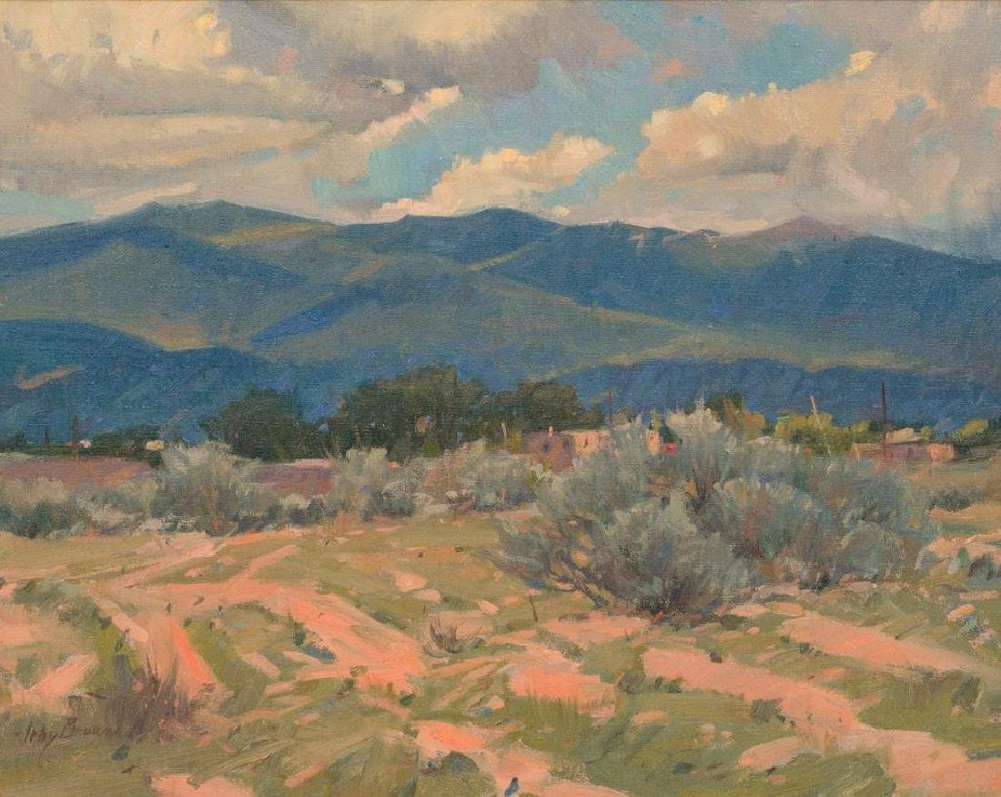 """Irby Brown (1928-2016), """"Mountain Light"""", oil"""