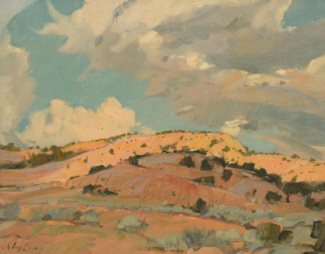 "Irby Brown (1928-2016), ""Bad Lands North of Santa Fe"","