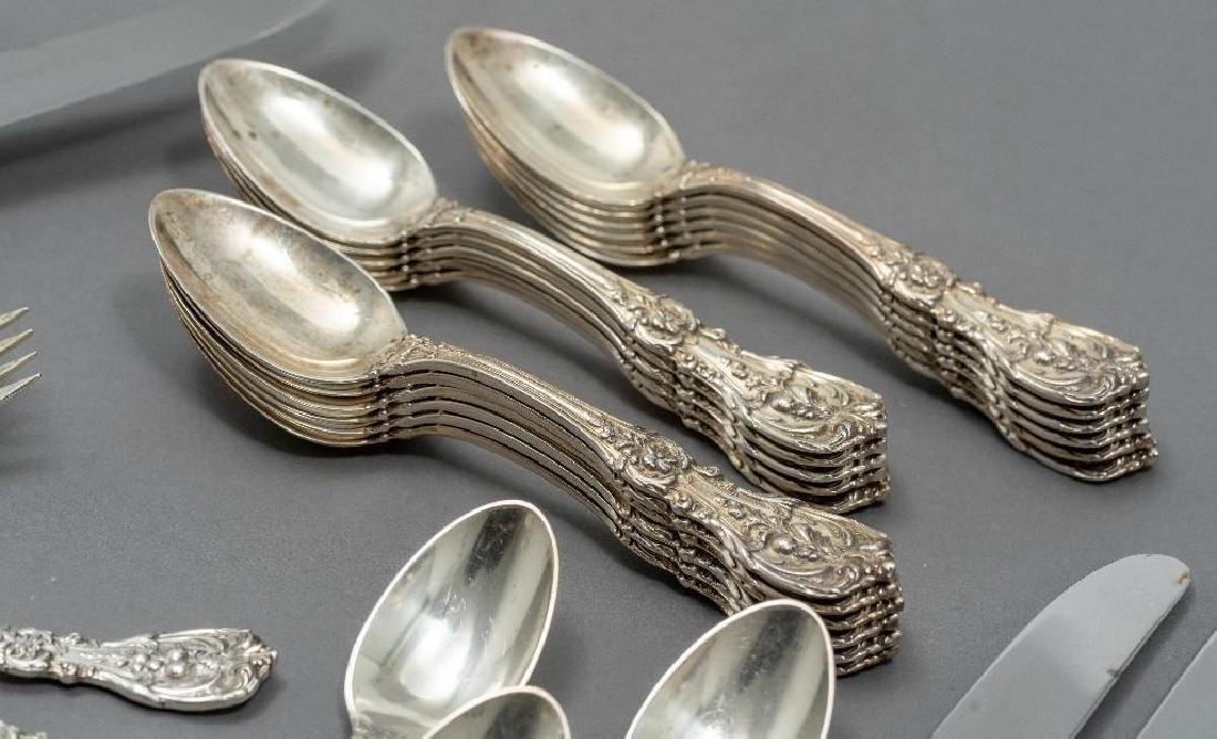 "Reed & Barton, ""Francis I"" 103-piece Sterling Flatware - 6"