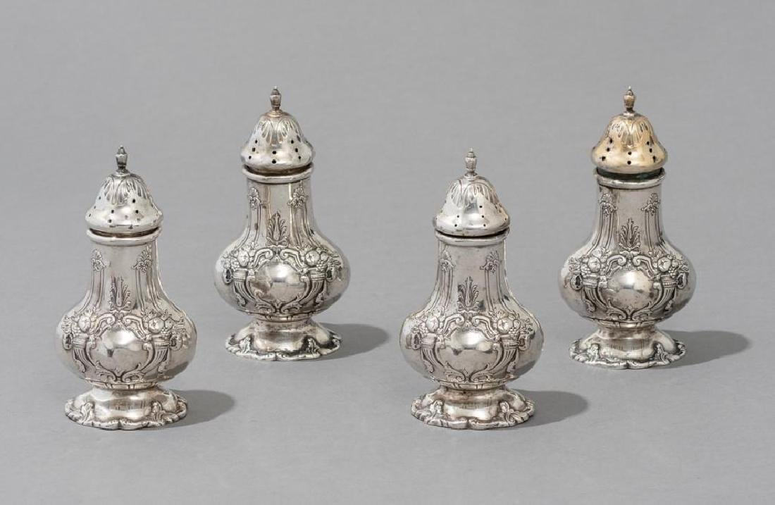 "Reed & Barton, ""Francis I"", Sterling Salt & Pepper"