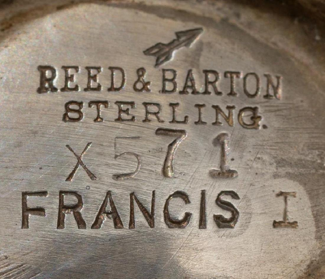 "Reed & Barton, ""Francis I"", Sterling Salt & Pepper - 2"