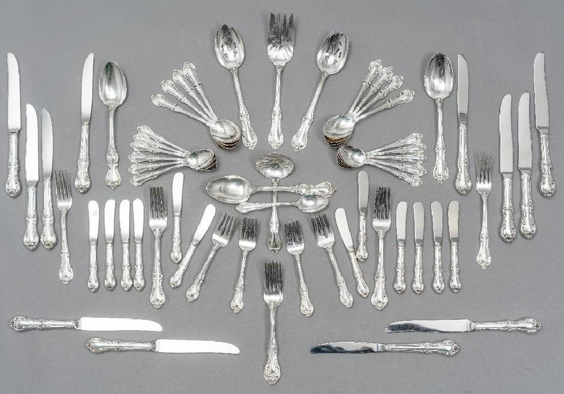 "International, ""Joan of Arc"" 76-Piece Sterling Flatware"