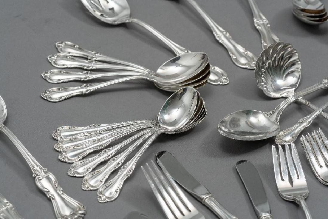 "International, ""Joan of Arc"" 76-Piece Sterling Flatware - 4"