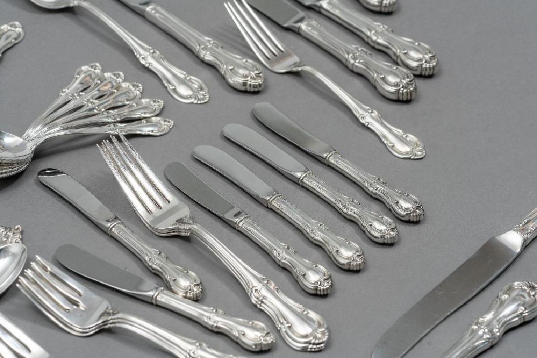 "International, ""Joan of Arc"" 76-Piece Sterling Flatware - 6"