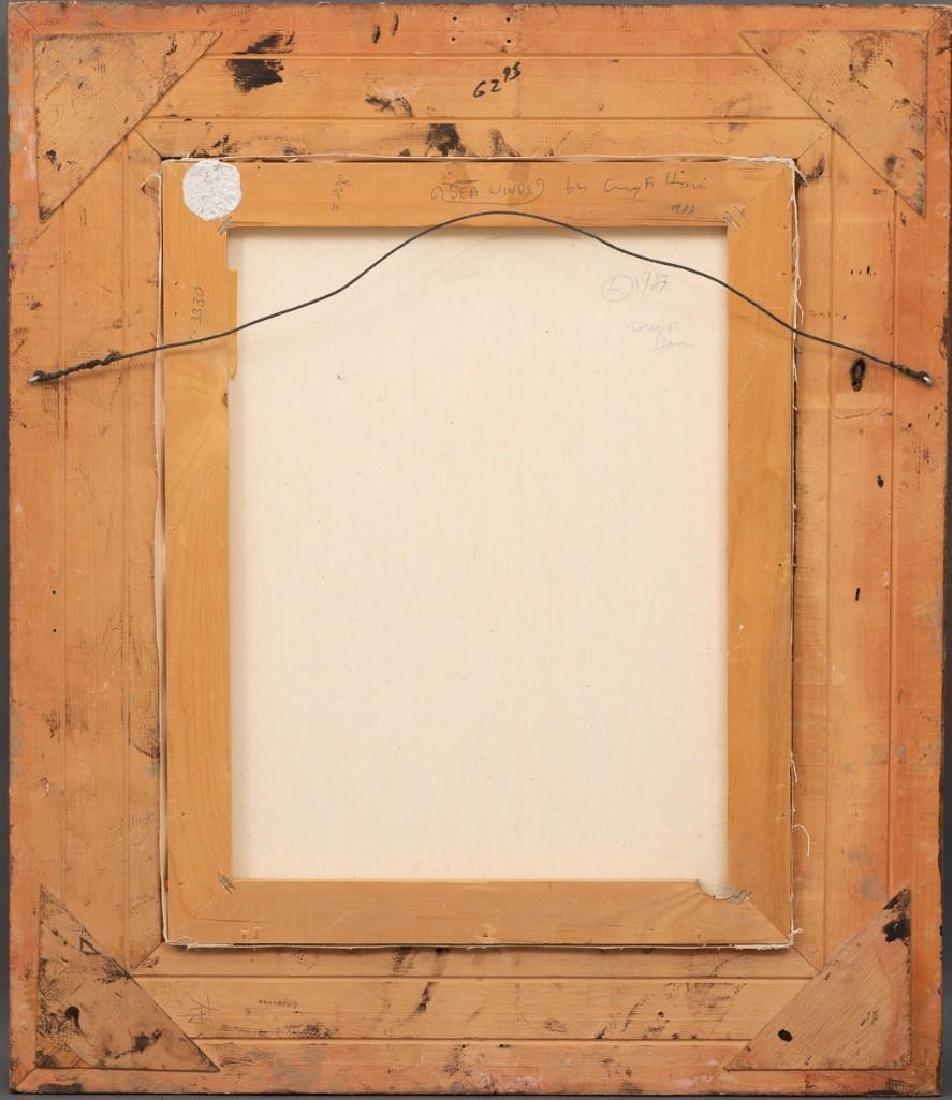 "Greg F. Harris (b. 1953), ""Sea Winds"", c. 1980, oil on - 4"
